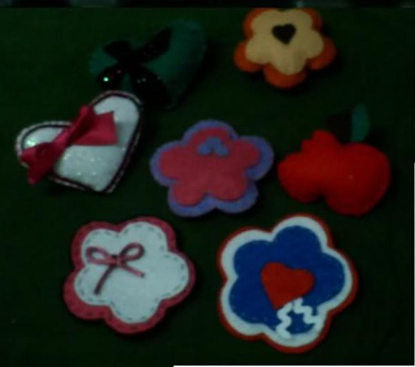 Broches varios